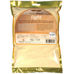Muntons Light Spraymalt, 500g