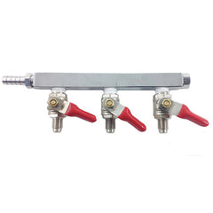 Gas Manifold, 3 Way