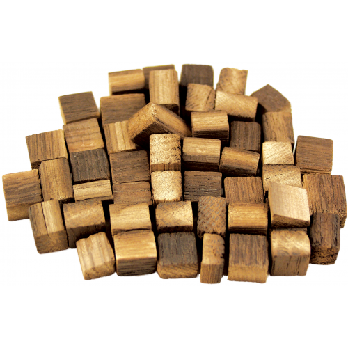 Hungarian Oak Cubes, Light Toast, 120g