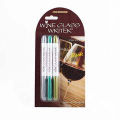 Wine Glass Writers, 3 pack