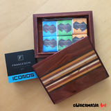 Wood box with Chocolates