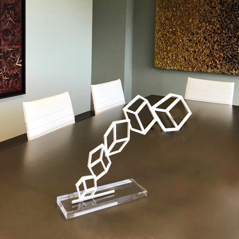 Acrylic Kube Sculpture