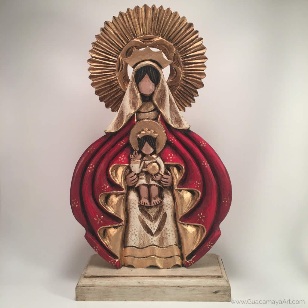 Our Lady of Coromoto Catholic Sculpture, Virgin Mary, Virgen Maria