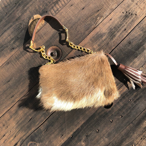 Goat Hair Small Bag