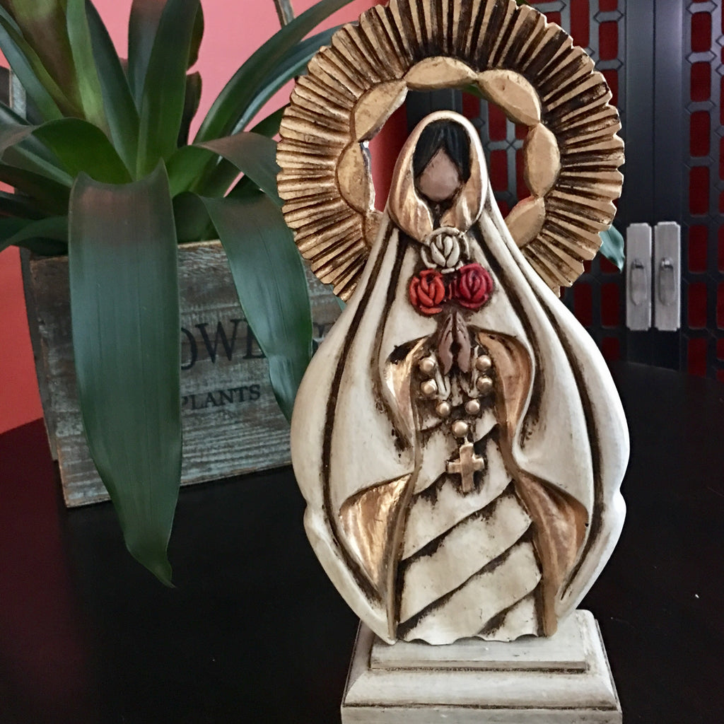 Catholic Sculpture, Virgin Mary, Virgen Maria