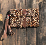 Clutch - Leopard Bag