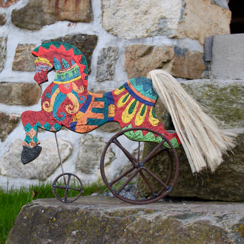 Tricycle Horse