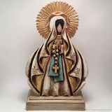 Our Lady of Lourdes Catholic Sculpture, Virgin Mary, Virgen Maria