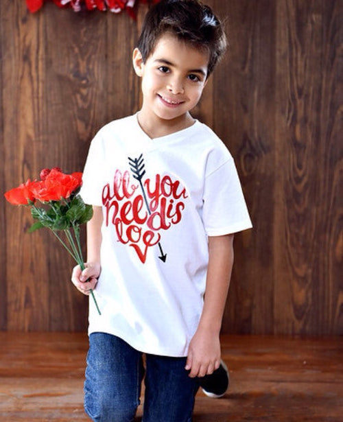 Love is all you need Valentine Shirt
