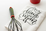 Home is where Mom is Kitchen Towel Christmas Gift for Mom