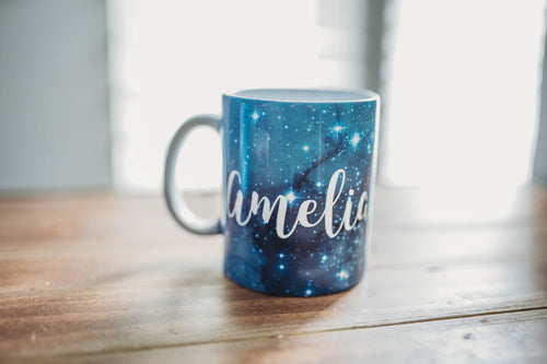 Personalized Galaxy Coffee Mug