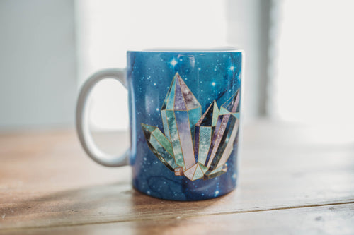 Galaxy Crystal Coffee Mug