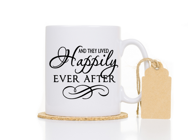 They lived happily ever after Coffee Mug Gift for Couple