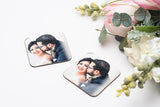 Personalized Photo Mug or Drink Coaster set of 2