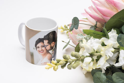 Wedding Gift Photo Mug for Couple