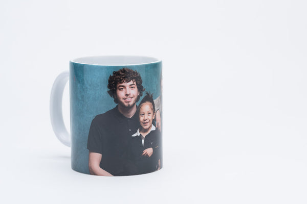 Family Photo Mug for Fathers Day