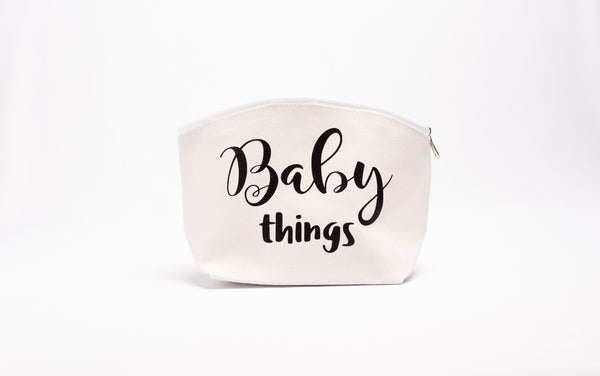 Baby things and Mom things Diaper bag organizer Baby Shower Gift Set