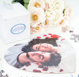 Personalized Heart Photo Puzzle for Valentine and Wedding