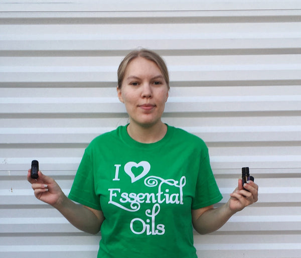 I love Essential Oil Shirt - Oil lover Gift