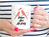 Newly Engaged Gift-  Personalized Future Mrs Coffee Mug