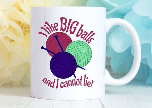Big Yarn Knitters Mug