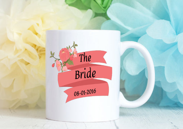 Bride Mug - Custom Gift for Bride