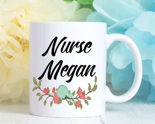 Personalized Nurse Mug
