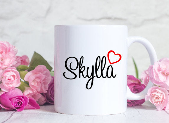 Personalized Mug for Coffee Lover Christmas or Birthday Gift