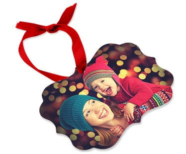 Custom Photo Christmas Ornament