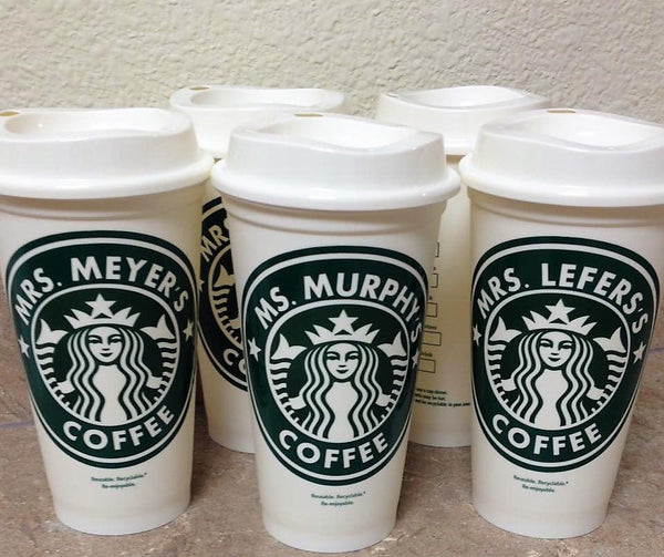 Personalized Starbucks Travel Coffee Cup