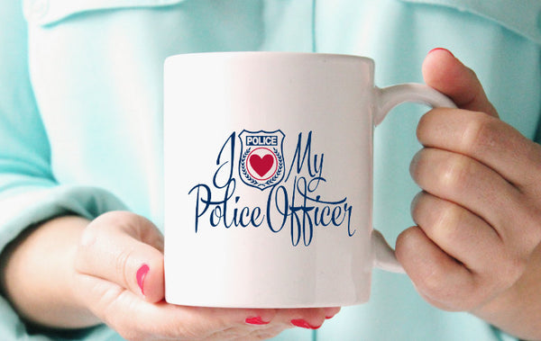 I love my Police Officer Mug