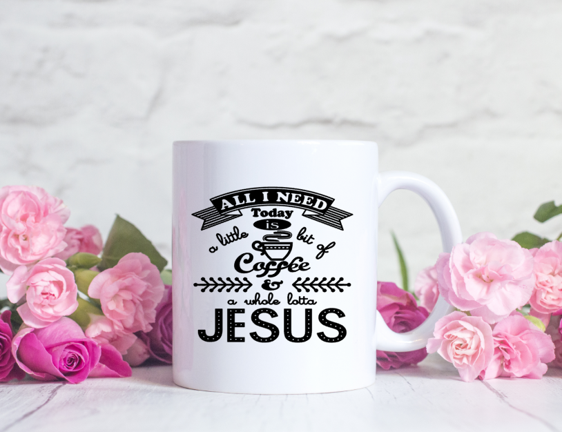 A Lotta Of Jesus Inspirational Coffee Mug