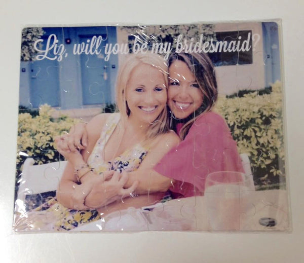 Will You be My Bridesmaids Photo Puzzle