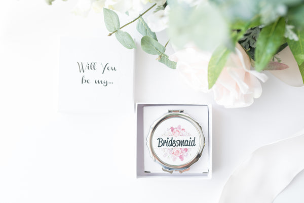 Maid of Honor Proposal Compact Mirror
