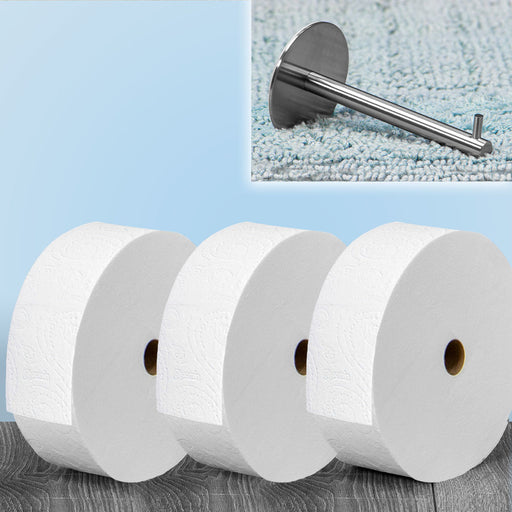 Charmin FOREVER ROLL STARTER KIT (ADHESIVE WALL MOUNT INCLUDED)