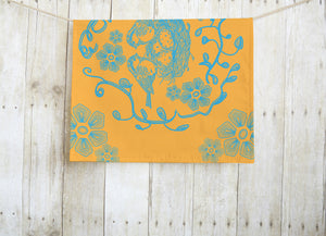 Nesting Orange Dish Towel