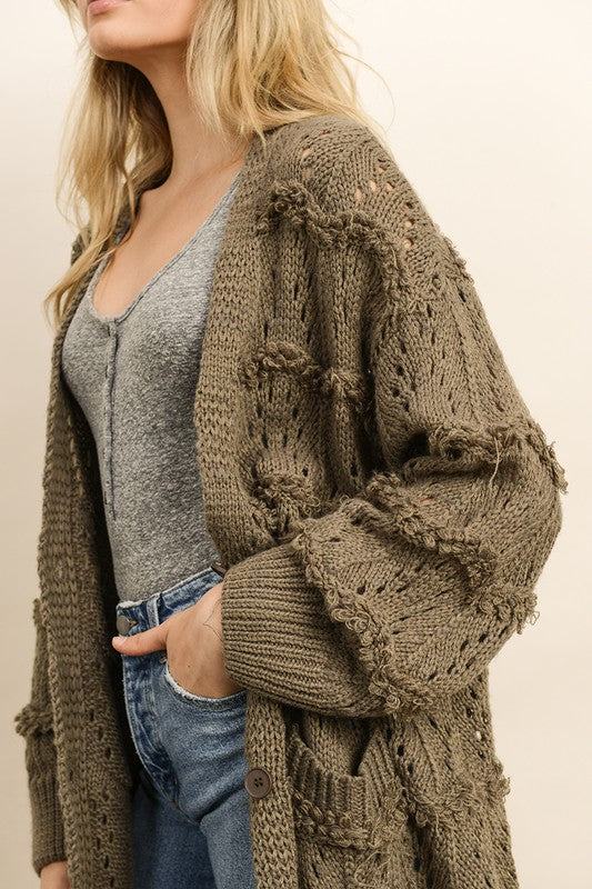 Forest Moss Cardigan