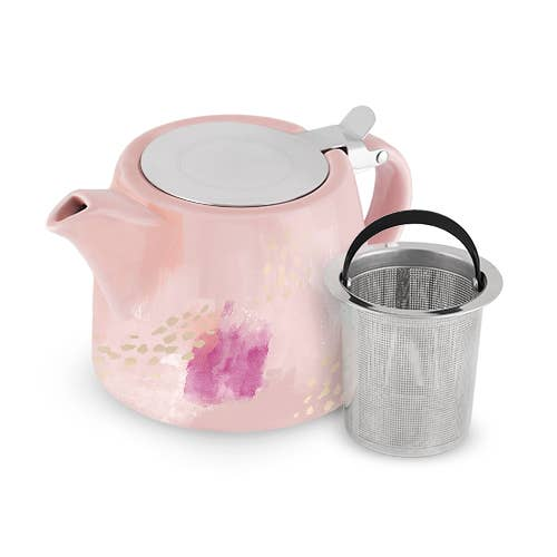 Harper Pink Tea Infuser Pot