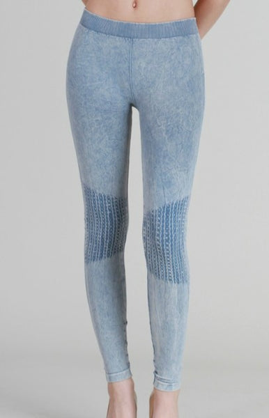Vintage Knee Legging