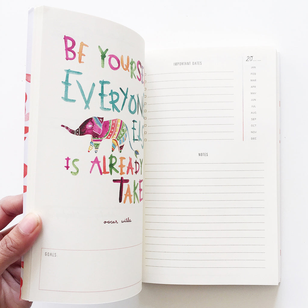 Start Where You Are Planner