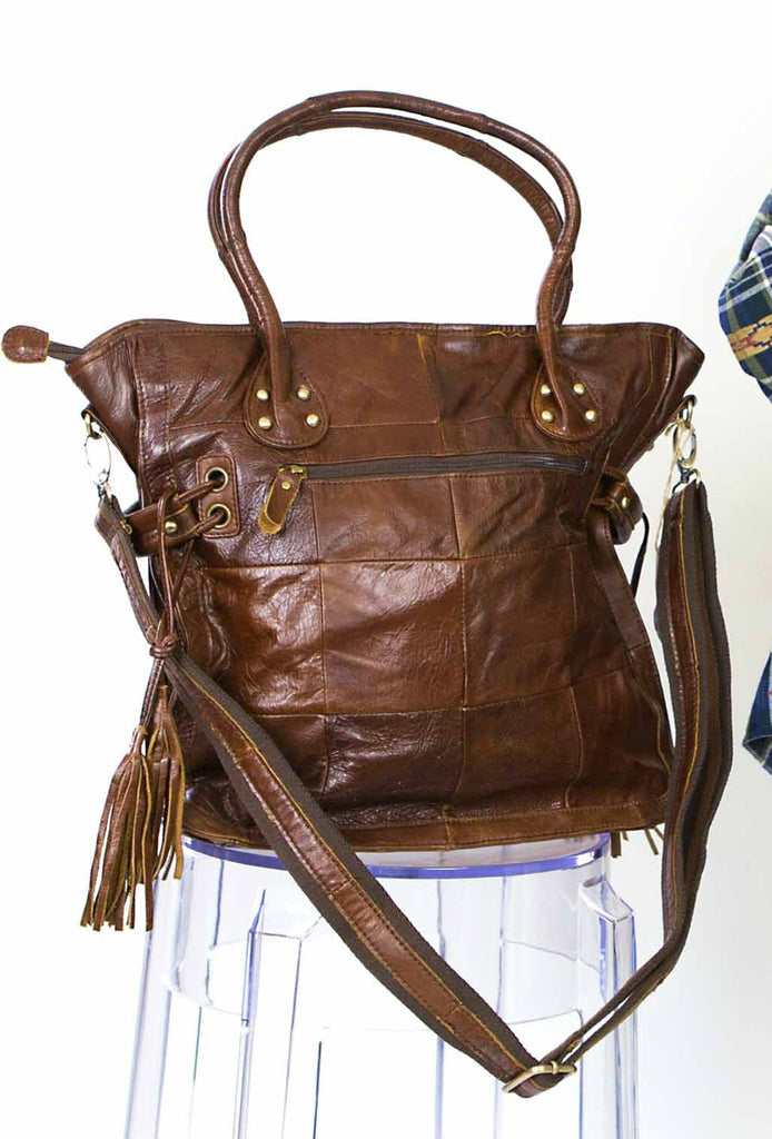 Day Trip Leather Tote