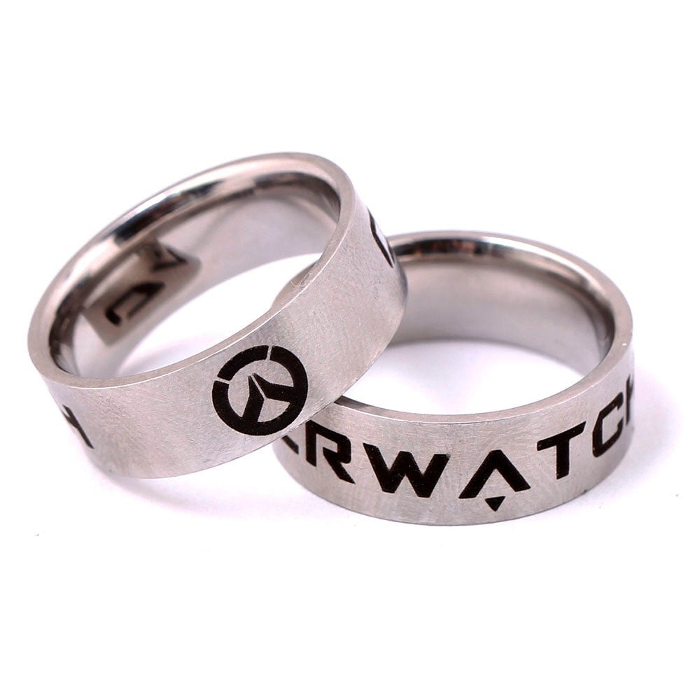 Overwatch Stainless Steel Ring