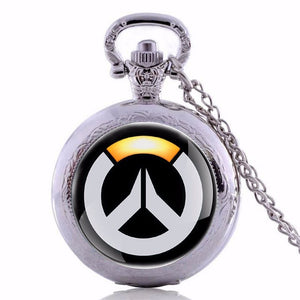 Overwatch Pocket Watch Necklace