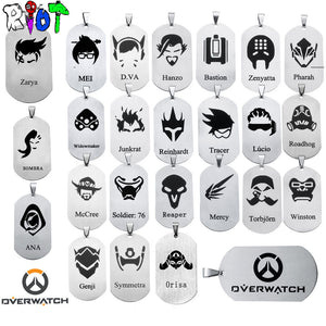 Overwatch Pendant and Necklace