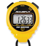 A601X PRO SURVIVOR STOPWATCH IN YELLOW