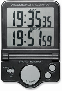 AL530 - Jumbo Display Timer/Clock with our New, Versatile Dual Display Timer