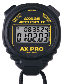 AX625 - AX PRO Series Professional Stopwatches - Two-Line Display Lap Split Stopwatch
