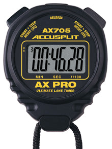 AX705 - AX PRO Series Professional Stopwatches - Ultimate Lane Timer for error free timing.