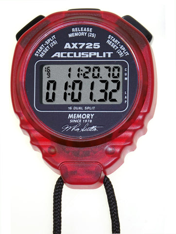 Signature Series, 40th Memory Anniversary AX725 PRO Memory Stopwatches