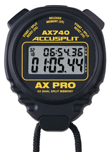 AX740 - AX PRO Memory Series Professional Stopwatches – 50 Dual Split Memory